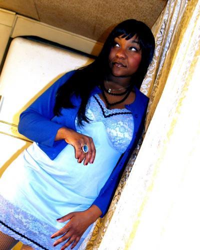 Sophia in a repurposed camisole